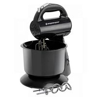 Westpoint Deluxe Hand Mixer with Stand Bowl - WF-9503 - 300 Watts - Black ha470