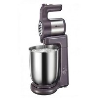 Westpoint Official WF-9504 - Deluxe Hand Mixer With Stand Bowl - 300 Watts - Silver ha859