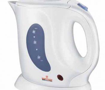 Electric Tea Kettle 1.2 Ltr Wf1108-White ha73