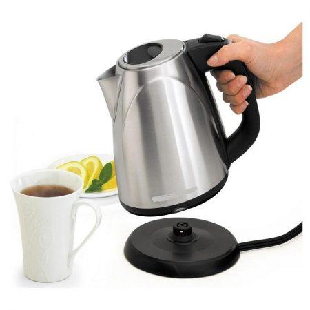 Electric Tea Kettle - Silver ha178