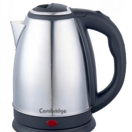 Electric Tea Kettle - Sk 9789 - Silver & Black ha103