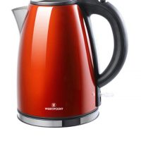 Electric Tea Kettle - WF-6174 - 1.7 Ltr - Red ha397