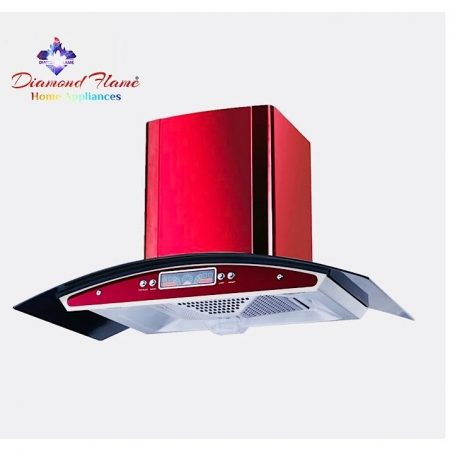 Shinny Red Kitchen Hood (ConeFilter) ha66