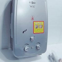 Super Asia Gas Instant Water Heater GH-106, Capacity 6Ltr, Water Pressure: Min 0.01Mpa~Max 0.8Mpa, Gas Pressure 2800 Pa, Automatic Ic Ignition System, Suitable For Low Pressure ha106