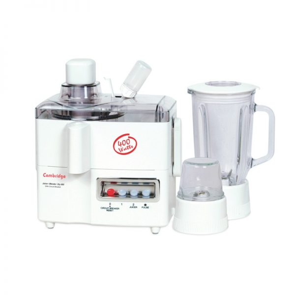 Cambridge JB-66 3 in 1 Multi Purpose Juicer Blender With Official Warranty
