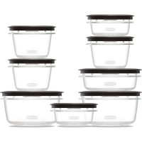 Rubbermaid Rm-1934587 16Pcs Set Premier Grey
