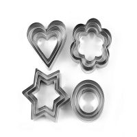 Xunom Multi Shape Cookies Cutter 12 Pcs