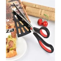 Xunom XUN-PZ-1 2 in 1 Roller Pizza Cutter & Lifter