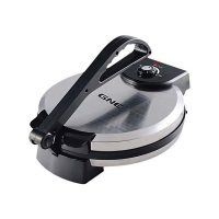 "Gaba National GN-4156 Roti Maker 12"" Inch Stainless Steel with Official Warranty TM-K172"