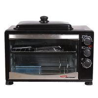 Gaba National GNO-1538 Electric Oven with Hot Plate 38Ltr With Official Warranty TM-K185