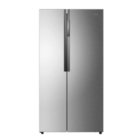 Haier HRF-618 SS Double Door Refrigerator With Official Warranty