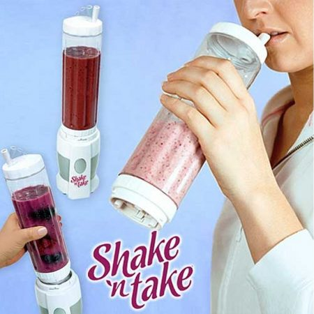 Shake N Take 2 Sports Bottle Smooth Blender TM-K260