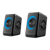 SonicEar Quatro 2 2.0 USB Portable Speaker Black & Blue