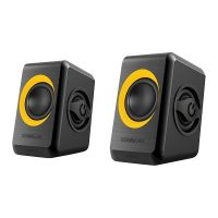 SonicEar Quatro 2 2.0 USB Portable Speaker Black & Orange